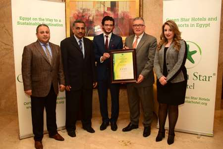 Safir Hotel Cairo awarded as a Green Star Hotel 2018-2020