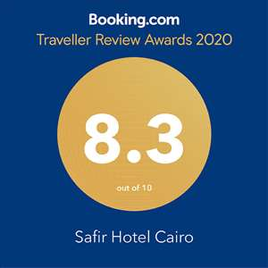 Safir Hotel Cairo And Traveler Review Award 2020 by Booking.Com
