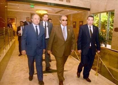 Safir Hotel Cairo  And His Excellency Minister of Agriculture