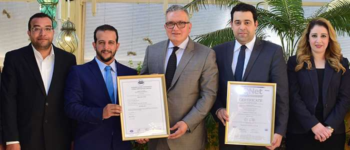Safir Hotel Cairo Acquired ISO 9001:2015