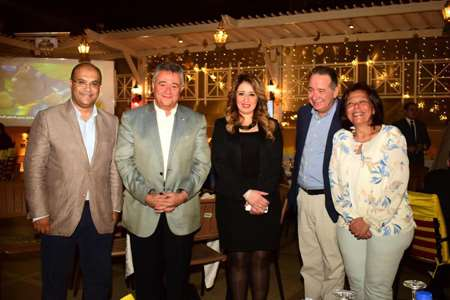 Safir Hotel Cairo  And Blue Moon Travel Agency annual Sohour at Hala Ramadan tent