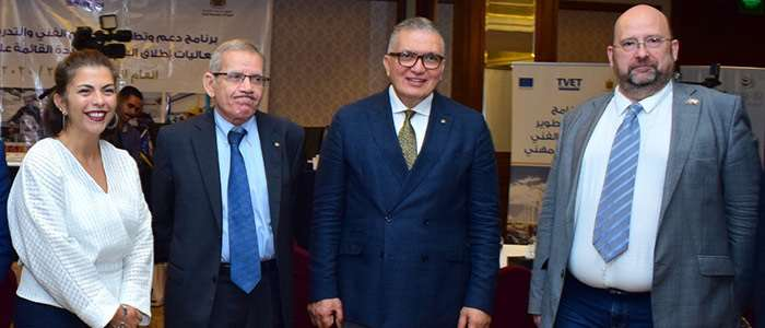 Safir Hotel Cairo And Technical and Vocational Education and Training celebration
